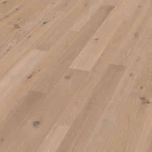 Richmond Oak Extra Rustic Brushed & Natural Oiled Wide Board Engineered Hardwood Flooring