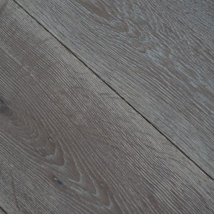 Silver Haze Brushed Hardwax Oiled Oak Engineered Hardwood Flooring