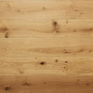 French Barn European Natural Oak Heavy Duty UV Oiled 150mm Engineered Wood Flooring
