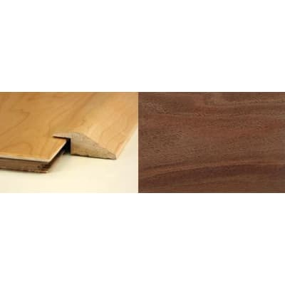 Walnut Ramp Bar Flooring Profile 15mm Rebate Soild Hardwood 2.7m