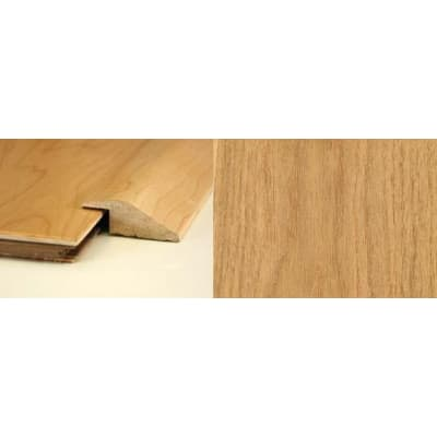 Oak Ramp Bar Flooring Profile 13mm Rebate Solid Hardwood 2.4m