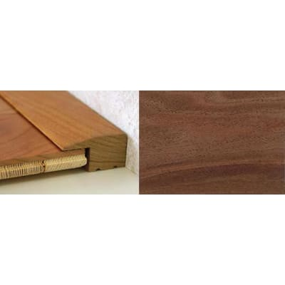 Walnut Square Edge Soild Hardwood Flooring Profile 20mm 0.9m