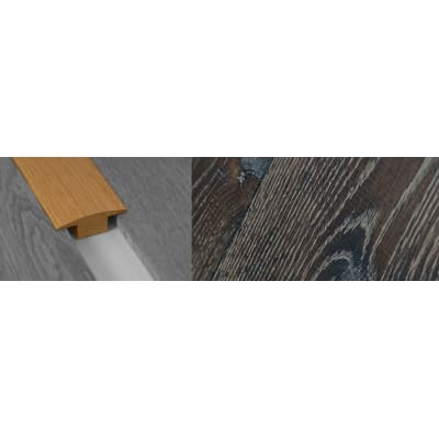Foundry Solid Oak T-Bar Profile Soild Hardwood 15mm Rebate Solid 2.7m