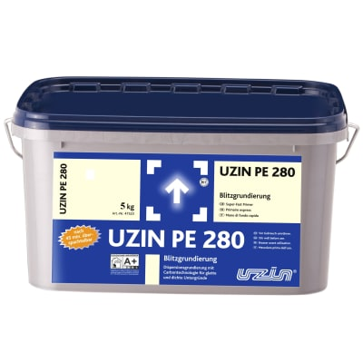 UZIN PE280 Rapid  Drying Carbon Fibre Primer 5kg