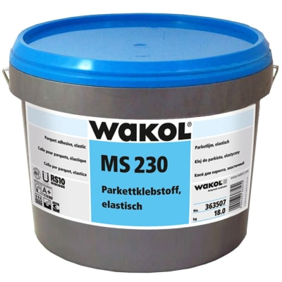 Wakol MS230 Wood Flooring Adhesive 9kg