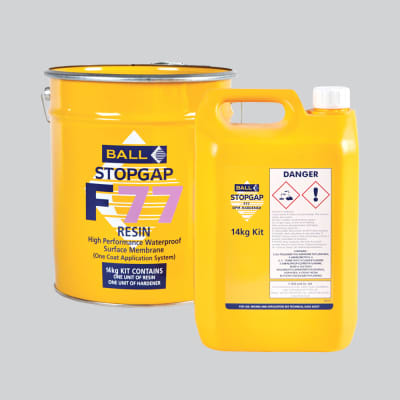 Ball F77 Stopgap 1 Coat Liquid DMP 14kg