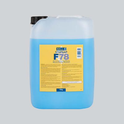 Ball F78 Stopgap 1 Coat Rapid Liquid DMP 18kg