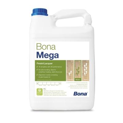 Bona Mega SATIN Lacquer for Wood Flooring  5L