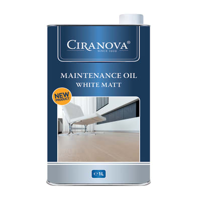Ciranova White Matt Wood Flooring Maintenance Oil 1L
