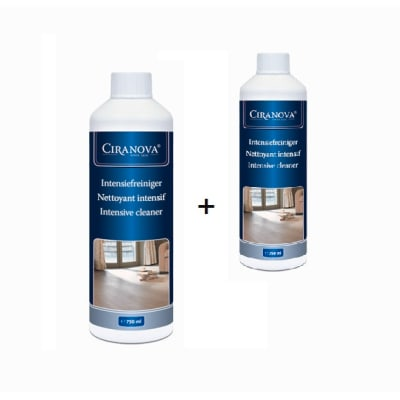 Ciranova Intensive Cleaner Oiled Floors 750ml-Twin Pack