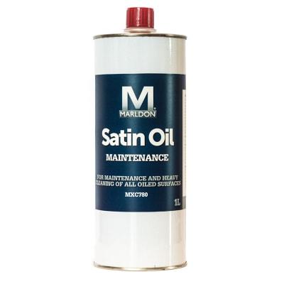 Marldon MXC780 Satin Maintenance Oil Wood Floor Care 1ltr