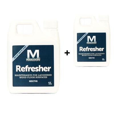 Marldon MXC745 Wood Flooring Refresher 1L (Twin Pack)