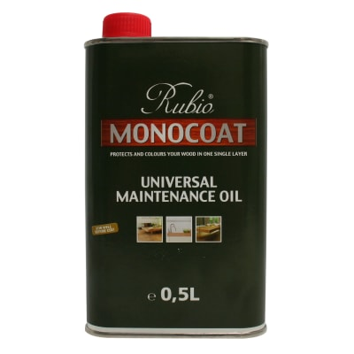 Rubio Monocoat Universal Wooden Floor Maintenance Oil WHITE 0.5L
