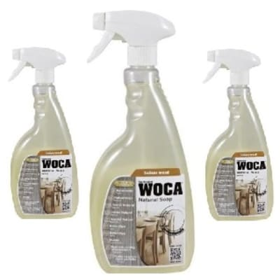 WOCA Natural Pre-Mixed Soap Spray 0.75L TRIPLE PACK