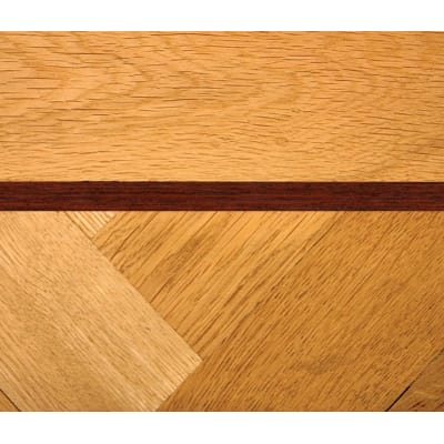 Mahogany 10mm Parquet Insert Strip