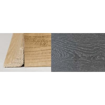Silver Grey Stained Oak Solid Hardwood Scotia 3m for Flooring