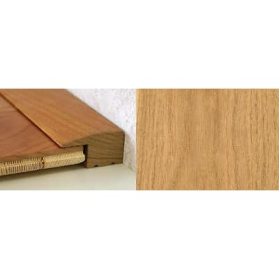 Oak Square Edge Soild Hardwood Flooring Profile 15mm 2.4m