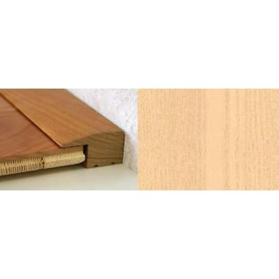 Maple Square Edge Soild Hardwood Flooring Profile 15mm 2.44m