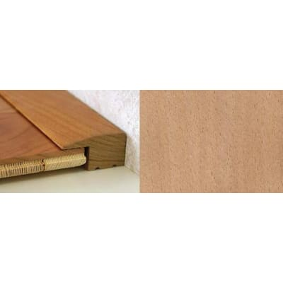 Beech Square Edge Soild Hardwood Flooring Profile Solid Wood 15mm 2.44m