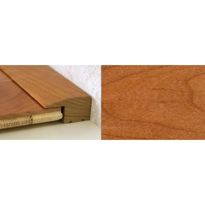Cherry Square Edge Soild Hardwood Flooring Profile Solid Wood 15mm 2.44m
