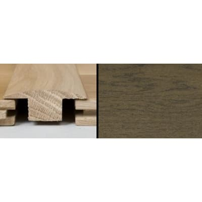 Coffee Oak T-Bar Profile Soild Hardwood 1m