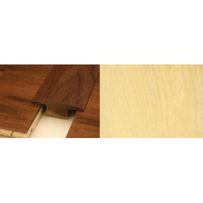 Maple T-Bar Profile Soild Hardwood 15mm Rebate 2.44m