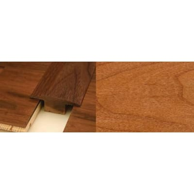 Cherry T-Bar Profile Soild Hardwood 15mm Rebate 2.44m