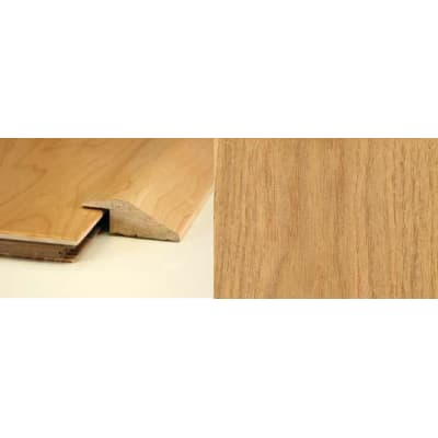 Natural Oak Ramp Bar Flooring Profile Solid Hardwood 1m