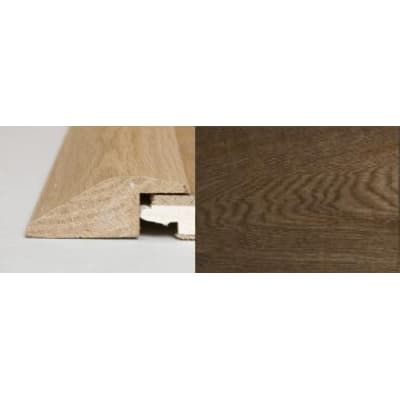 Smoked Oak Ramp Bar Flooring Profile Soild Hardwood 1m