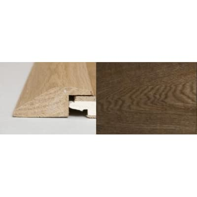 Smoked Oak Ramp Bar Flooring Profile Solid Hardwood 2m