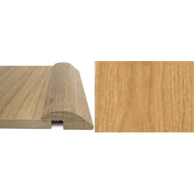 Oak Ramp Bar Flooring Profile 7mm Rebate Solid Hardwood 0.9m