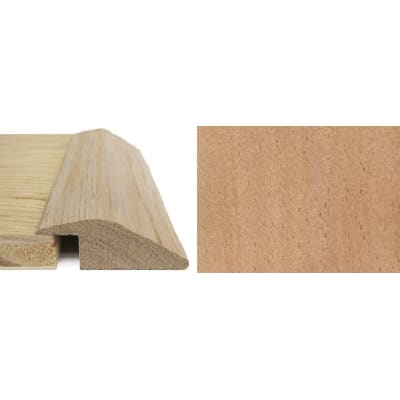Beech Ramp Bar Flooring Profile 15mm Rebate Solid Hardwood 2.4m