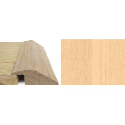 Ash Ramp Bar Flooring Profile 15mm Rebate Solid Hardwood 2.4m
