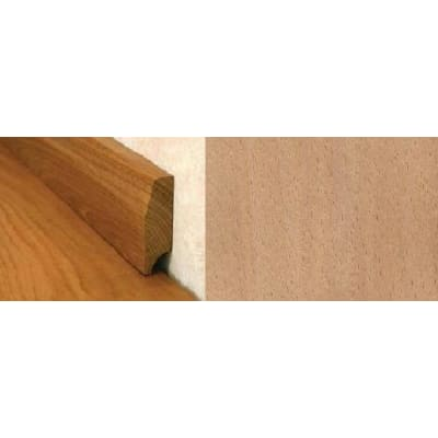 Beech Pencil Round Solid Hardwood Skirting 2.4m for Flooring
