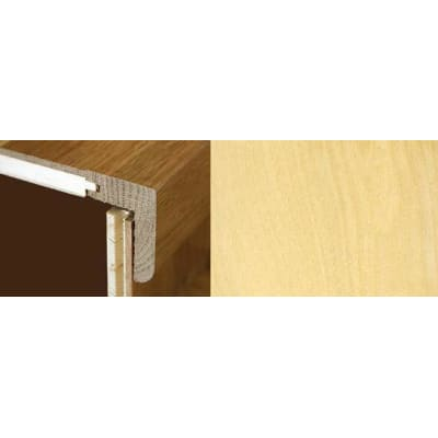 Maple Stair Nosing Profile Soild Hardwood 2.4m