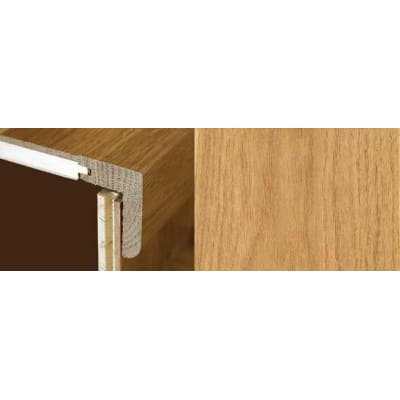 Natural Oak Stair Nosing Profile Soild Hardwood 2.4m