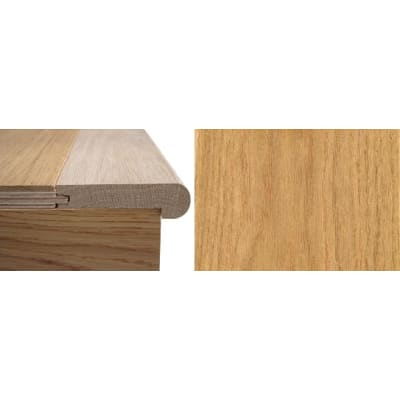 Solid Oak Stair Nosing Profile Soild Hardwood 20mm 2.7m