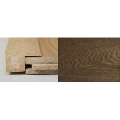 Smoked Oak Square Edge Soild Hardwood Flooring Profile 2m