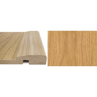 Oak Square Edge Soild Hardwood Flooring Profile 7mm 2.7m
