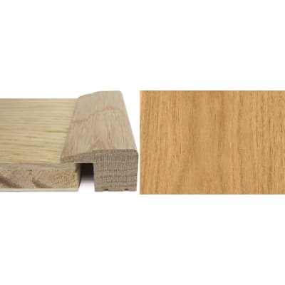 Oak Square Edge Soild Hardwood Flooring Profile 15mm 0.9m