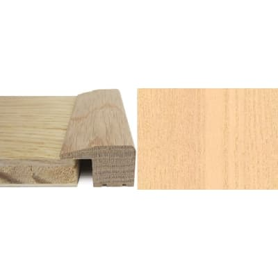 Ash Square Edge Soild Hardwood Flooring Profile Solid Wood 15mm 2.4m