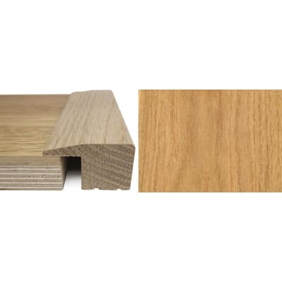 Oak Square Edge Soild Hardwood Flooring Profile 20mm 2.7m