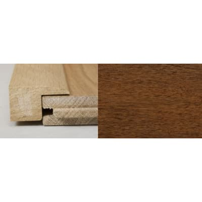 Light Walnut Square Edge Soild Hardwood Flooring Profile 1m