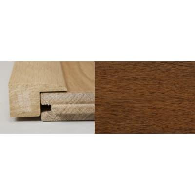 Light Walnut Square Edge Soild Hardwood Flooring Profile 2m