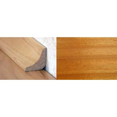 Iroko19mm Solid Hardwood Scotia 2.44m for Flooring