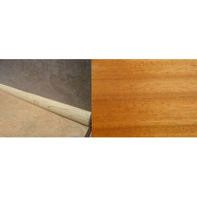 Iroko Solid Hardwood 19mm Scotia 2.44m for Flooring