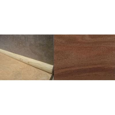 Walnut Solid Hardwood 19mm Quadrant 2.44m for Flooring