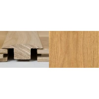 Oak T-Bar Profile Soild Hardwood 1m