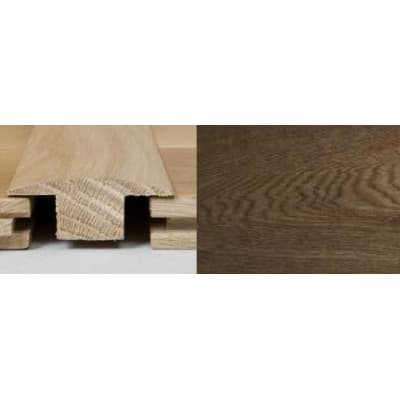 Smoked Oak T-Bar Profile Soild Hardwood 3m