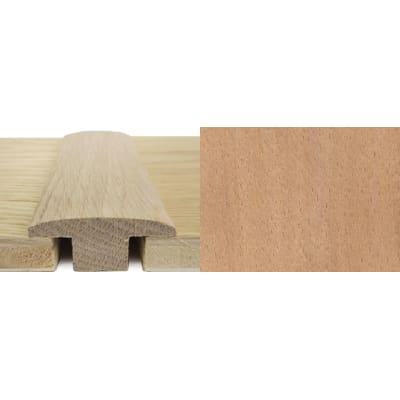 Beech T-Bar Profile Soild Hardwood 15mm Rebate 2.4m